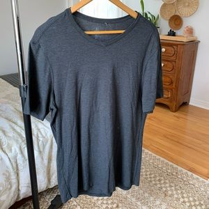 "Mens large lululemon ""five year basic v"""